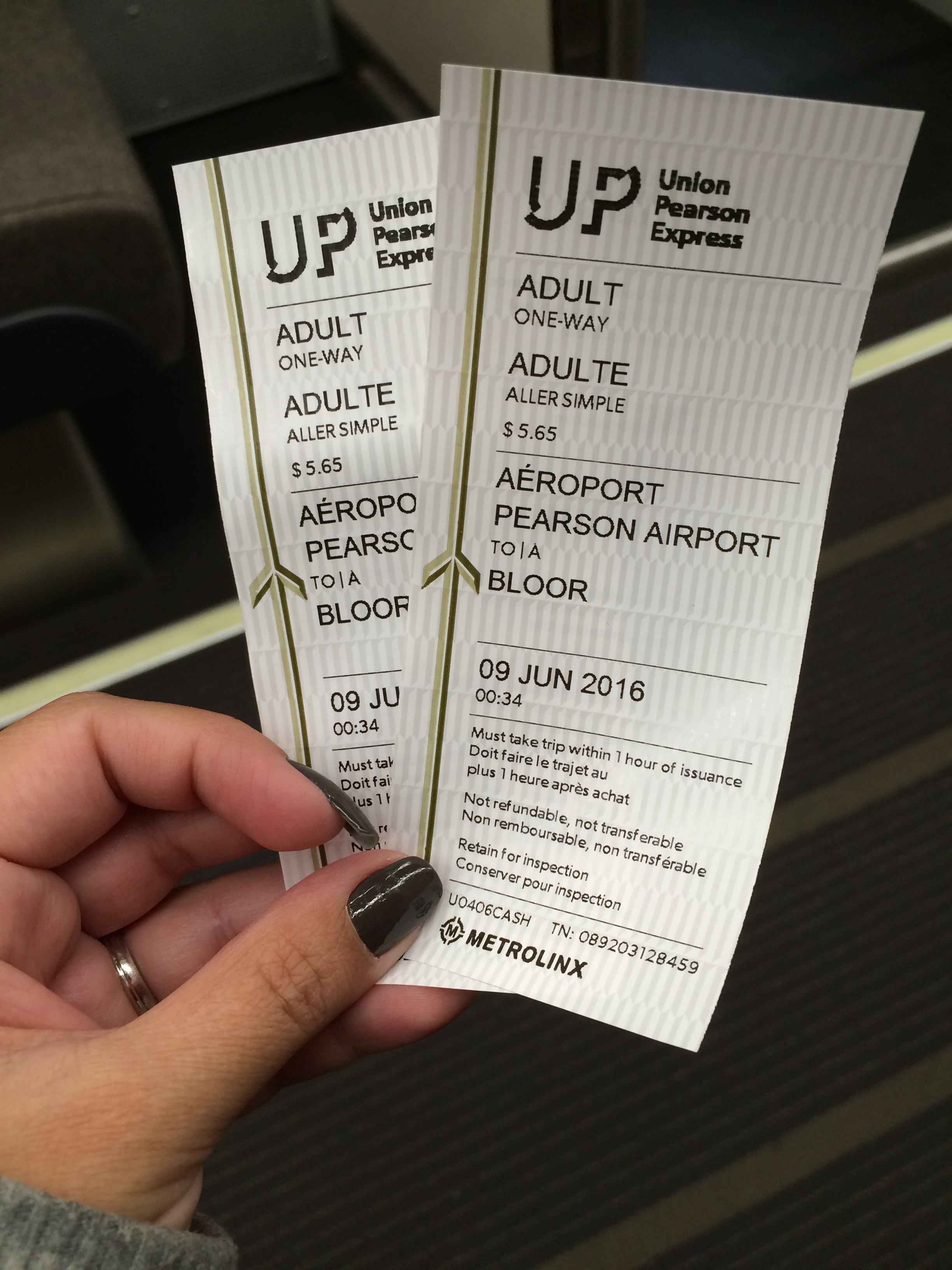 up express pearson airport