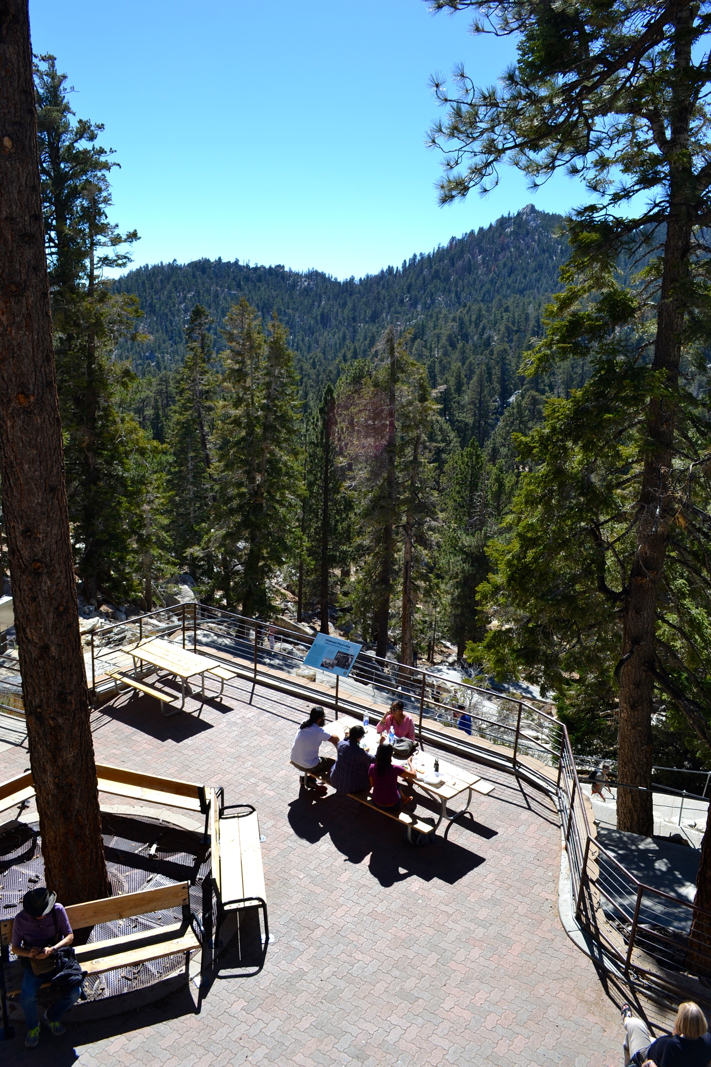 palm springs aerial tramway weather